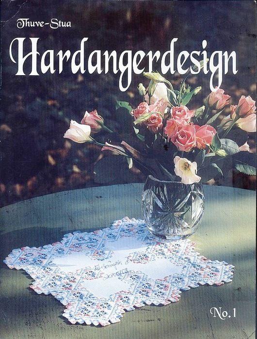 Revista de Hardanger com trabalhos lindos.