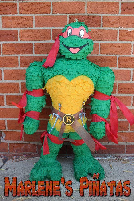 Shredder or Ninja Turtles pinatas...