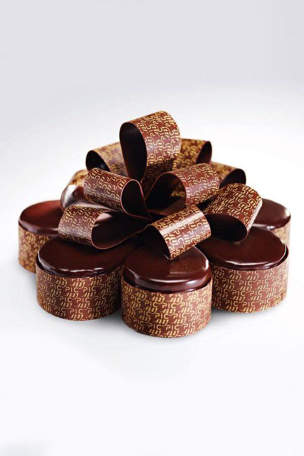 Dessert chocolat - Anne-Sophie Pic