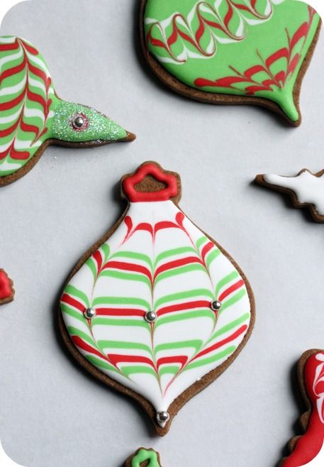 12 best Christmas Ornament & Light Cookies images on Pinterest ...