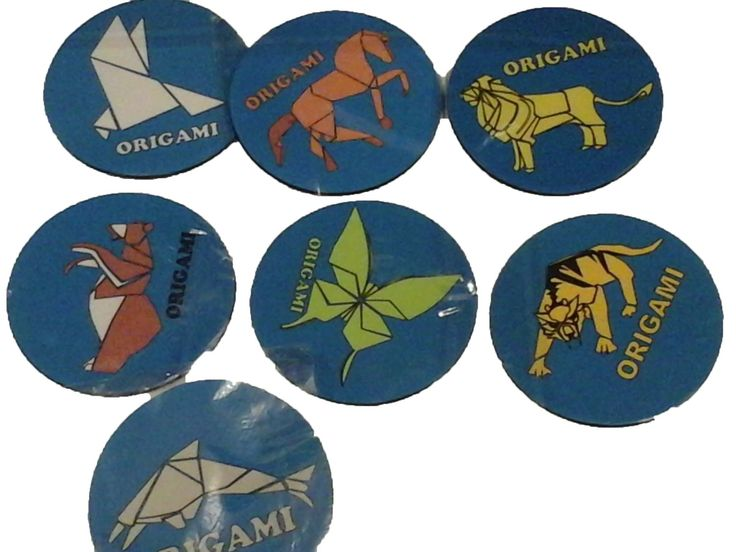Porta vasos en neopreno tipo origami 7bonitos diseños informes humanizarte2004@hotmail.com