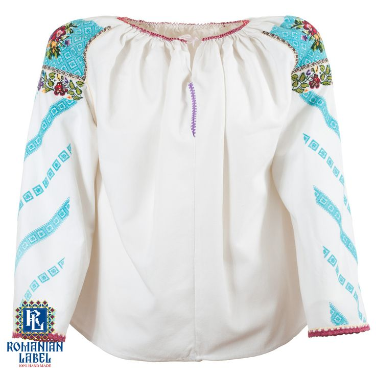 $204 You can carry the vintage traditional blouse on your body, but most of all, carry it in your soul.