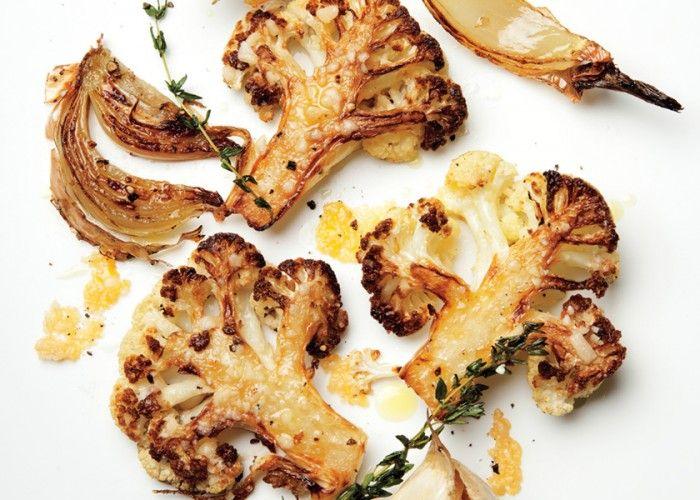 Parmesan Roasted Cauliflower Recipe #cauliflower  #Parmesan  #cauliflower_recipes