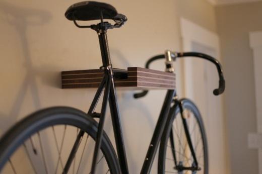Pinstripe Bike Shelf