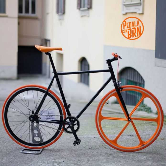 #brn #fixedgear #single #speed #fixie #fixieporn #cyclelove #cyclegram #bicycle #italy