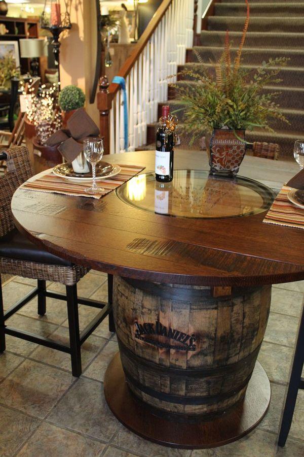 Bereiten Sie Weinfässer auf, um Ihr Zuhause zu dekorieren! 37 Ideen …   – Nicolas Surand
