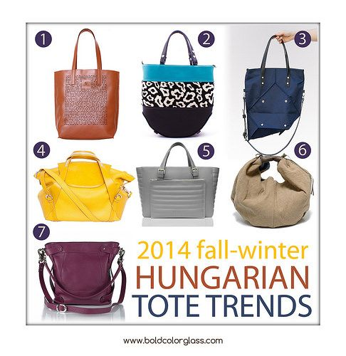 Top Hungarian Designer Totes | bold.color.glass blog