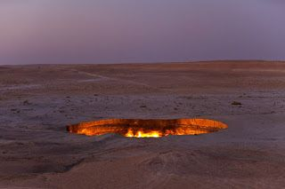 Turkmenistan. 10th least visited country in the world.