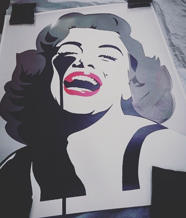 Screaming Marilyn by Pure Evil