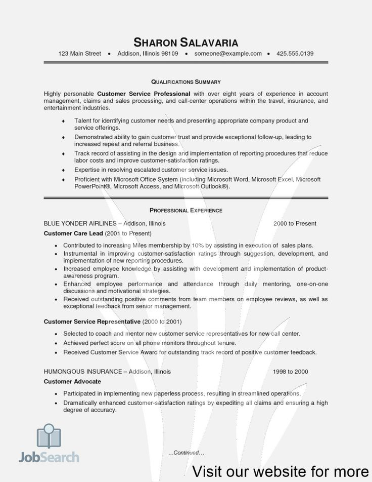14+ Objective for resume customer service Resume Examples