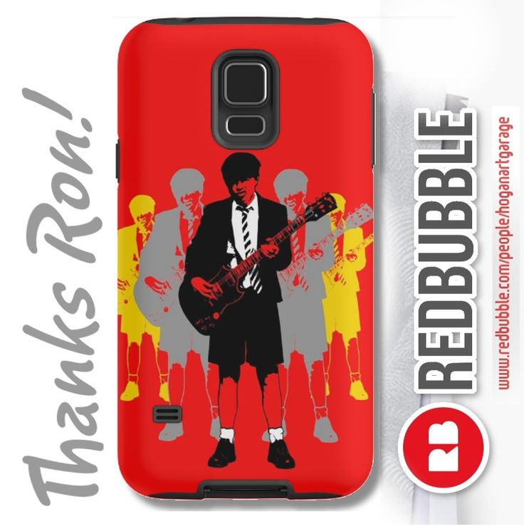 Sold!!!..thanks to Ron from Connecticut in the USA who recently bought this Samsung phone case featuring my 'Taking the Lead - Angus Young' Pop-art design from my @redbubble webstore. And thanks for the kind email you sent me Ron, I really appreciate it! ...Merry Christmas, Happy Holidays!!! #sold #redbubble #acdcfans #angusyoung #popart #phonecases #samsungs5 #cellphone #mobile #thankyou #giftideas #musicfan #rock #angus #acdc #red #phonecovers #guitarists #rocklegends