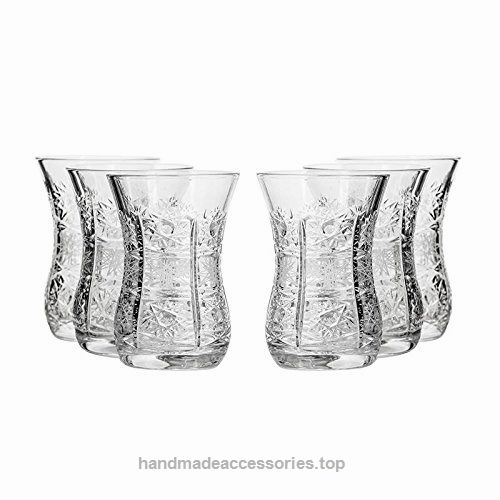 Set of 6 Neman Glassworks, 5-Oz Hand Made Vintage Russian Crystal Turkish Tea Glasses, Liquor Glasses Old-fashioned Glassware  Check It Out Now     $59.99    Neman Glassworks GS8845-18-X, 5-Ounce Crystal Liquor Glasses, 6-Piece Set offers unmatched drinking experience for yo ..  http://www.handmadeaccessories.top/2017/03/13/set-of-6-neman-glassworks-5-oz-hand-made-vintage-russian-crystal-turkish-tea-glasses-liquor-glasses-old-fashioned-glassware/