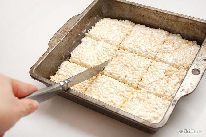 Make Rice Krispies Treats