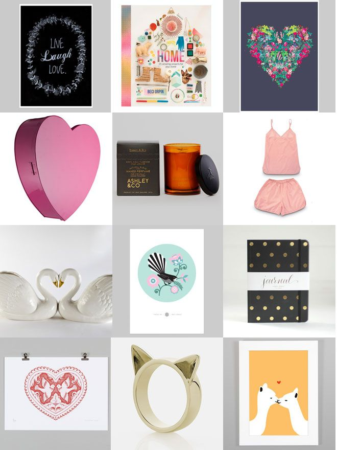 Endemicworld BLOG | Valentines Day Gift Guide for Her Check all our gift ideas here: http://nzartprints.co.nz/2014/01/my-sweet-valentine-gift-ideas-for-her/