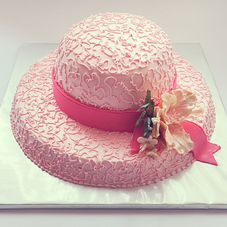 This hat cake recipe is great for a ladies tea or birthday party.. Hat Cake  Recipe from Grandmothers Kitchen.