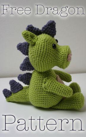 Dragon Crochet - a free pattern
