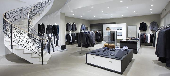 Tiger of Sweden flagship store by Koncept Stockholm, Stockholm Sweden fashion