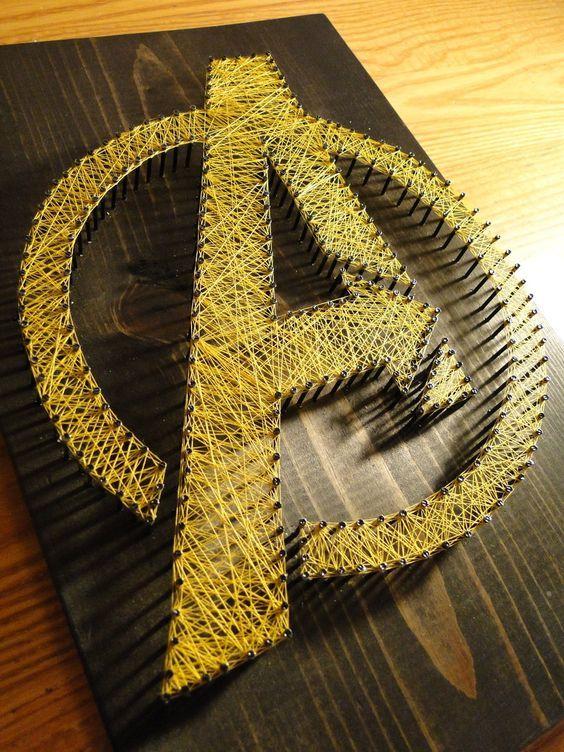 The Avengers String Art by ~SimplyThreaded on deviantART: