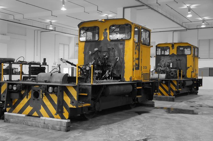Track Equipments (New or Refurbished) Loco under overhaul