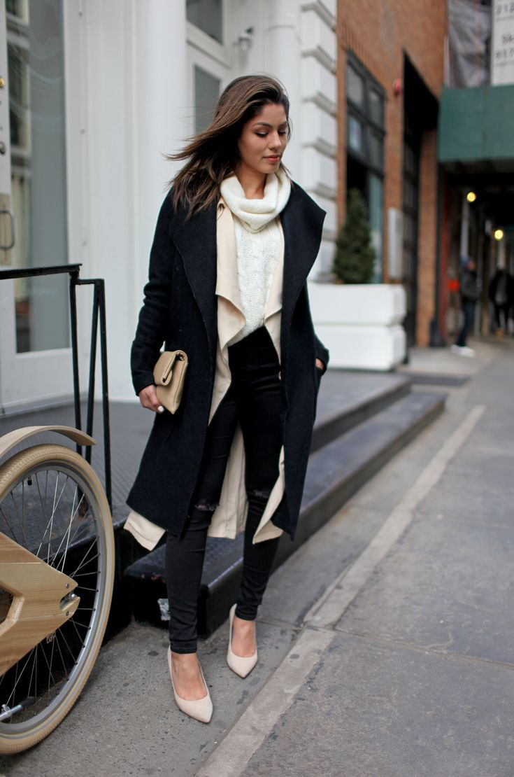 Major Layer | Megan Batoon | Outfit Inspo. | Pinterest | Layering Work Outfits And Fall Winter