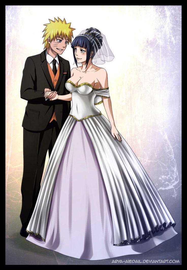 Fan art naruto hinata wedding Anime Pinterest Fan