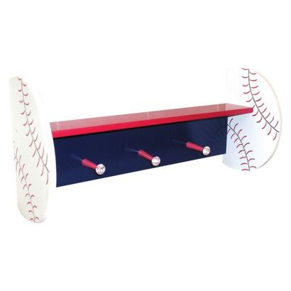 I Like The Idea Of A Baseball Shelf But This One Might Be Too Modern Also