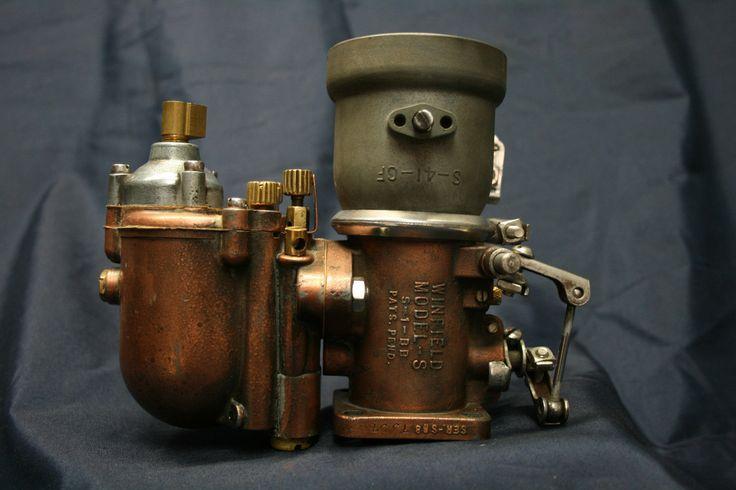 Winfield Downdraft Model S 1 Bb Brass Carburetor Mason