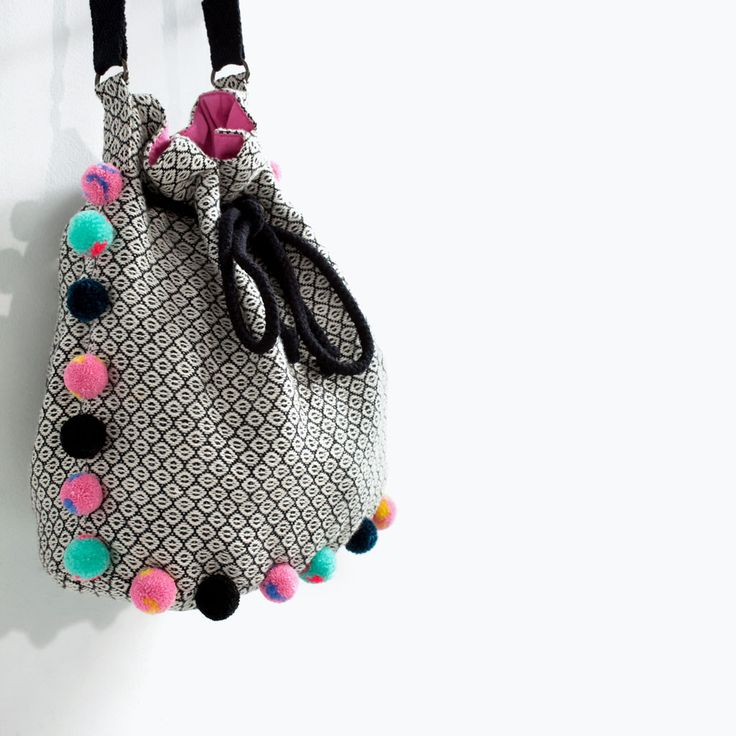 Image 3 of DOLLY BAG WITH TASSELS from Zara