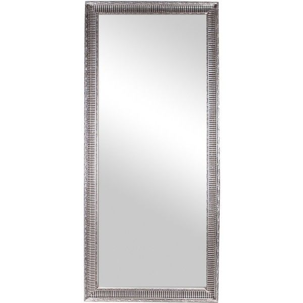 ALEKSEJ Mirror 78x180cm (Silver) ($79) ❤ liked on Polyvore featuring home, home decor, mirrors, silver framed mirror, silver home decor, silver home accessories, framed mirrors and silver mirror