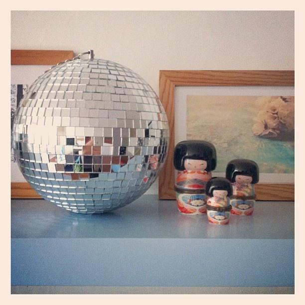 my new #discoball {ph.Ilaria Chiaratti Bonomi - Instagram app.}