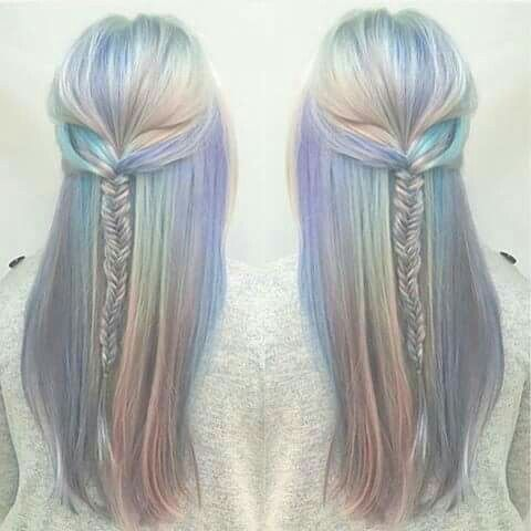 COLOR:  Angel's Hair or Opal Hair ..... Love the braid too!!!!