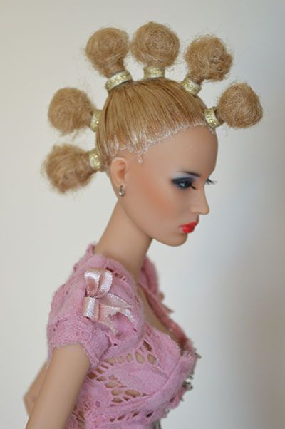 390 best Couture Barbie Hairstyles images on Pinterest | Barbie ...