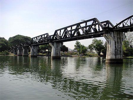 River Kwai Bridge, Kanchanaburi, Thailand