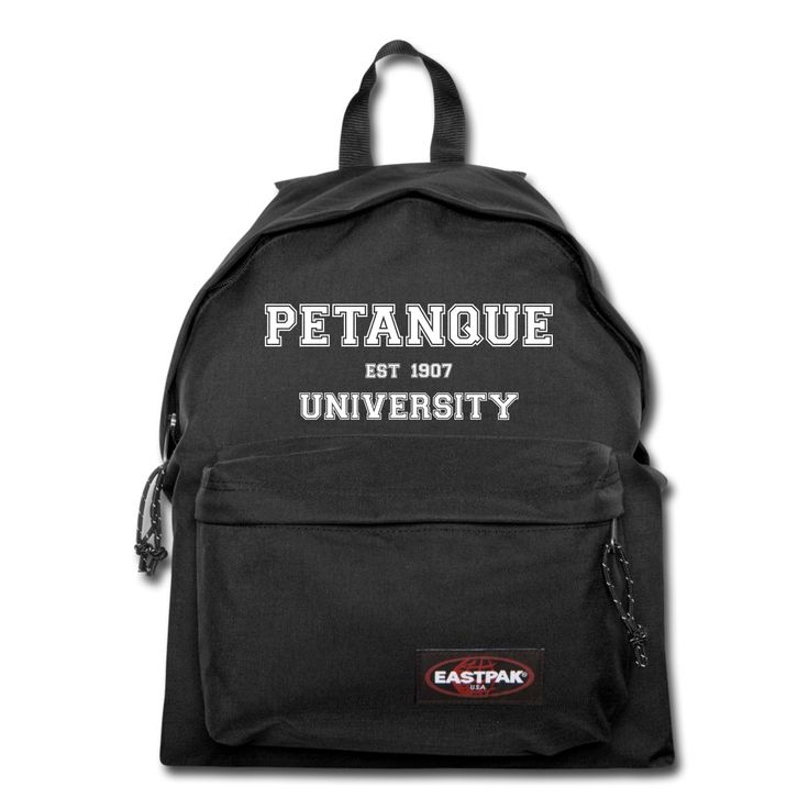 """Eastpack Backpack - Sac à dos Padded Pak'R - Eastpak - Collection """"Petanque University"""" #extremeboules #pétanqueextrème #streetpetanque #urbanpetanque #extremebocce #petanque #petanca #jeuxdeboules #boules #bocce #bocceball #beautiful #fashion #pretty #fashionstyle #street #shirt #shopping #styleoftheday #comfortable #outfitideas #outfit #trendystyle #inspiration #unique #menswear #clothes #outfitoftheday #mensfashion #shop #boutique #beauty #streetstyle #streetwear #eastpak #black"""