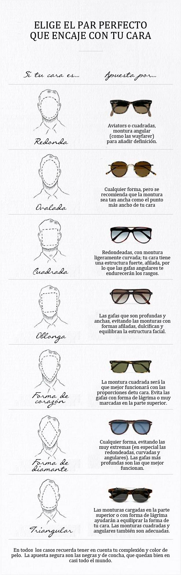 gafas según tu cara