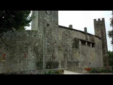 ▶ Le Gers Buissonnier : Larressingle, village fortifié - YouTube