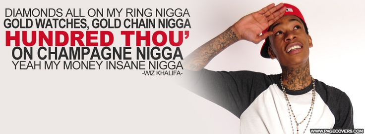 Wiz Khalifa Work Hard Play Hard Lyrics Facebook Cover - PageCovers.com