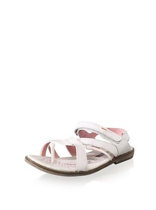 51% OFF Beeko Kid's Vignola Sandal (Little Kid/Big Kid) (White)