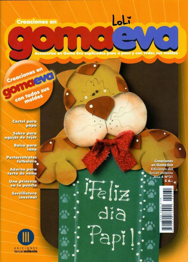 82 best flores de goma eva images on pinterest fabric - Flore de goma eva ...