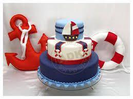 Resultado de imagem para bolo falso de marinheiro