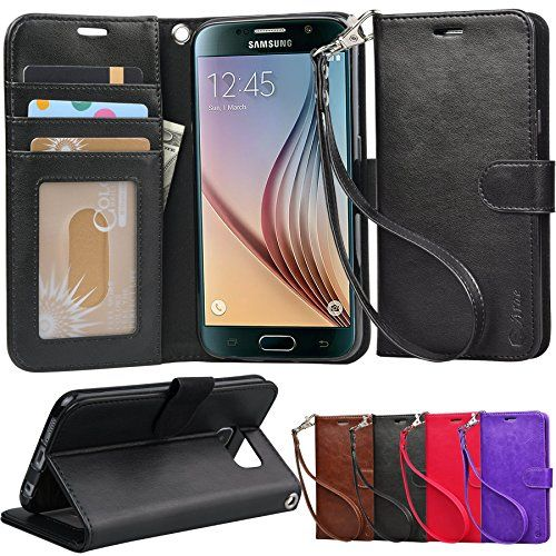 S6 Case, Arae Samsung Galaxy S6 wallet case,[Wrist Strap] Flip Folio [Kickstand Feature] PU leather wallet case with ID&Credit Card Pockets For Samsung Galaxy S6  http://topcellulardeals.com/product/s6-case-arae-samsung-galaxy-s6-wallet-casewrist-strap-flip-folio-kickstand-feature-pu-leather-wallet-case-with-idcredit-card-pockets-for-samsung-galaxy-s6/  Specially Designed Case for galaxy s6 Easy access To All Buttons,Camera,speaker and connector.Allows Charging without re