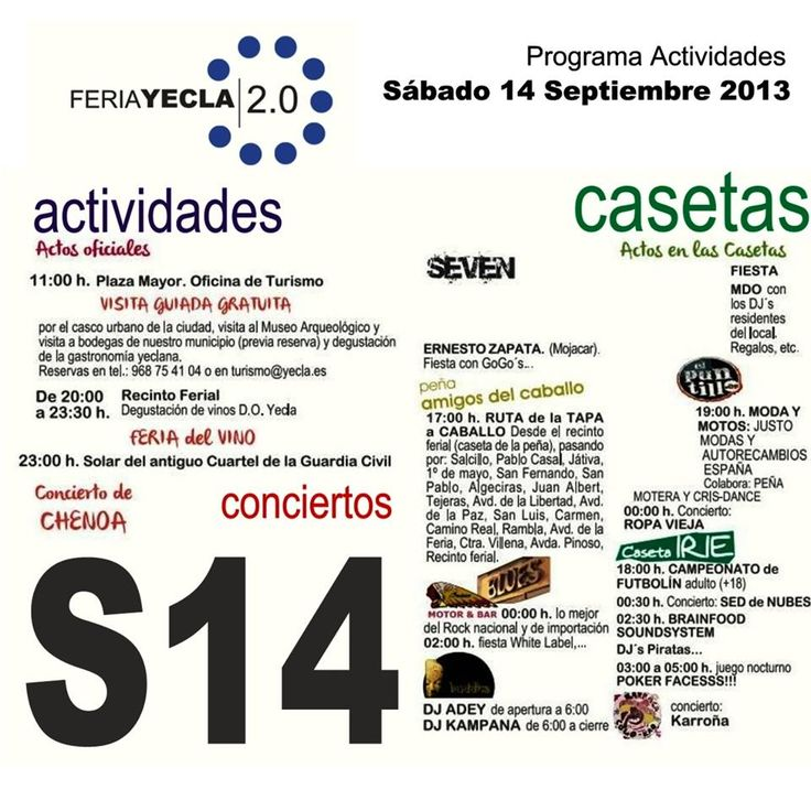 Amigos de yecla programa de actividades del viernes 13 de for Gimnasio yecla