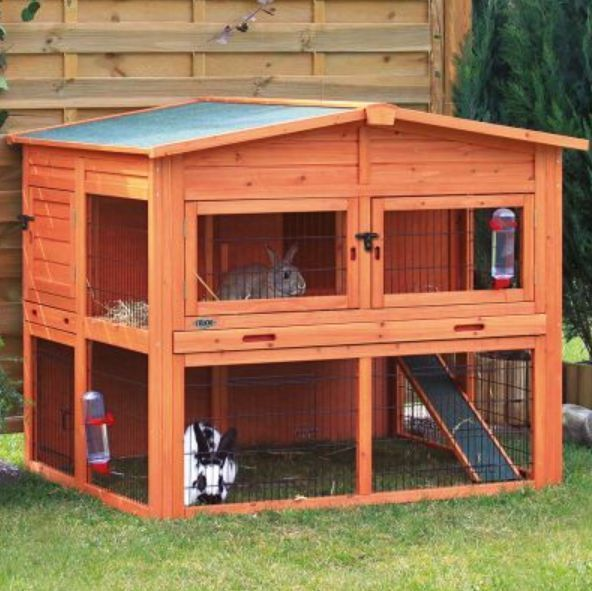 Extra Large Wooden Rabbit Hutch Guinea Pig Cage With Run Nesting Box Animal Home | Pet Supplies, Small Animal Supplies, Cages & Enclosures | eBay!