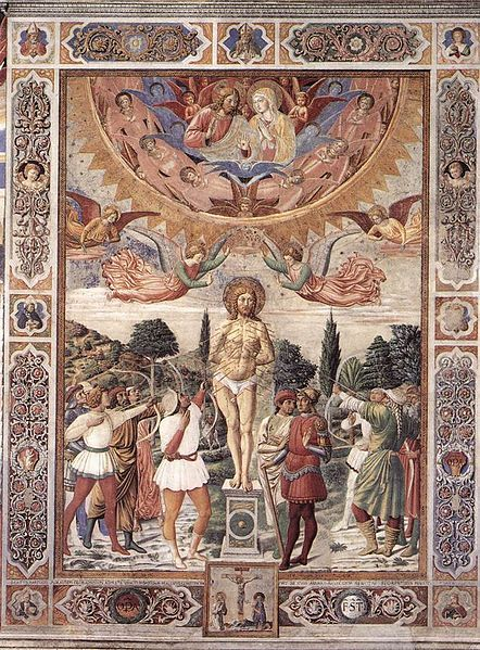 File:Benozzo Gozzoli - Martyrdom of St Sebastian - WGA10332.jpg