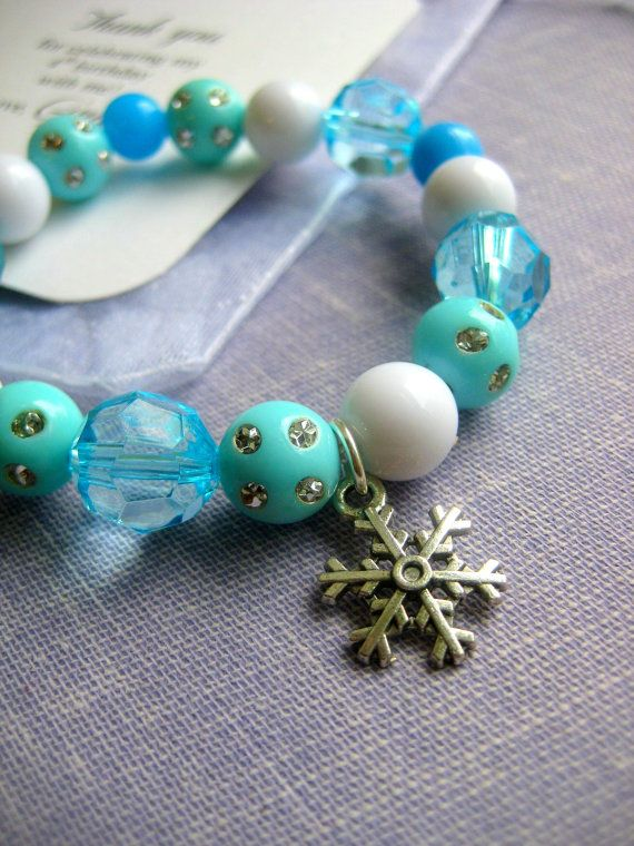 Holiday+winter+snow+Christmaswhite+blue+party+by+buysomelove,+$30.00 This lady has tons of this stuff!!!!!  FROZEN PARTY Favor!!!
