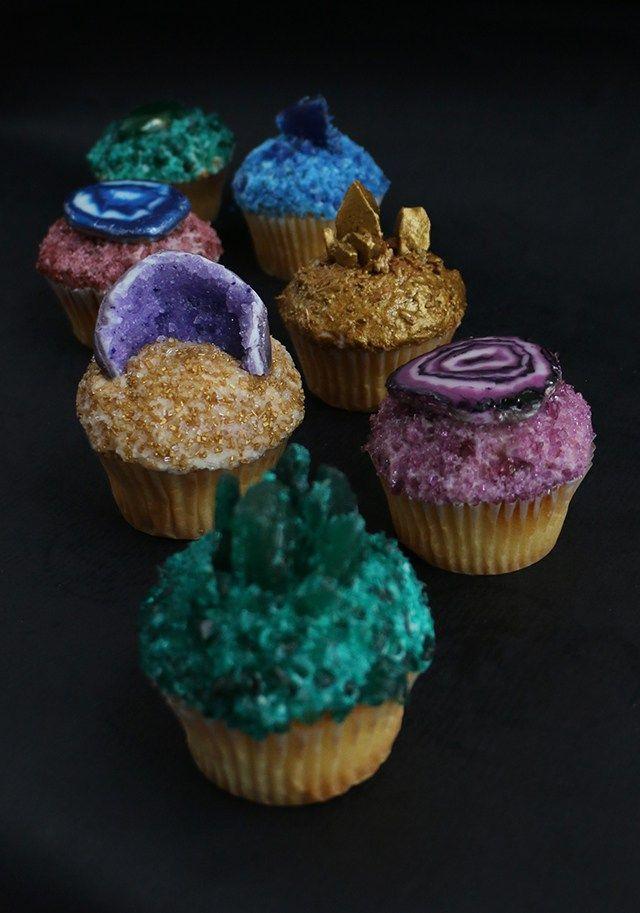 """CUPCAKES """"PIEDRAS PRECIOSAS"""" (Gemstone Cupcakes) #CupcakesOriginales"""