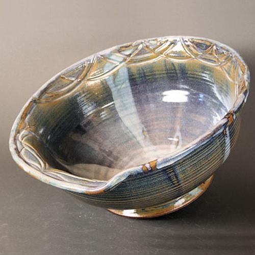 Ribboned Marble Vessel Sink. #theconcessionrealestate #vesselsink #luxury  #interiordesign