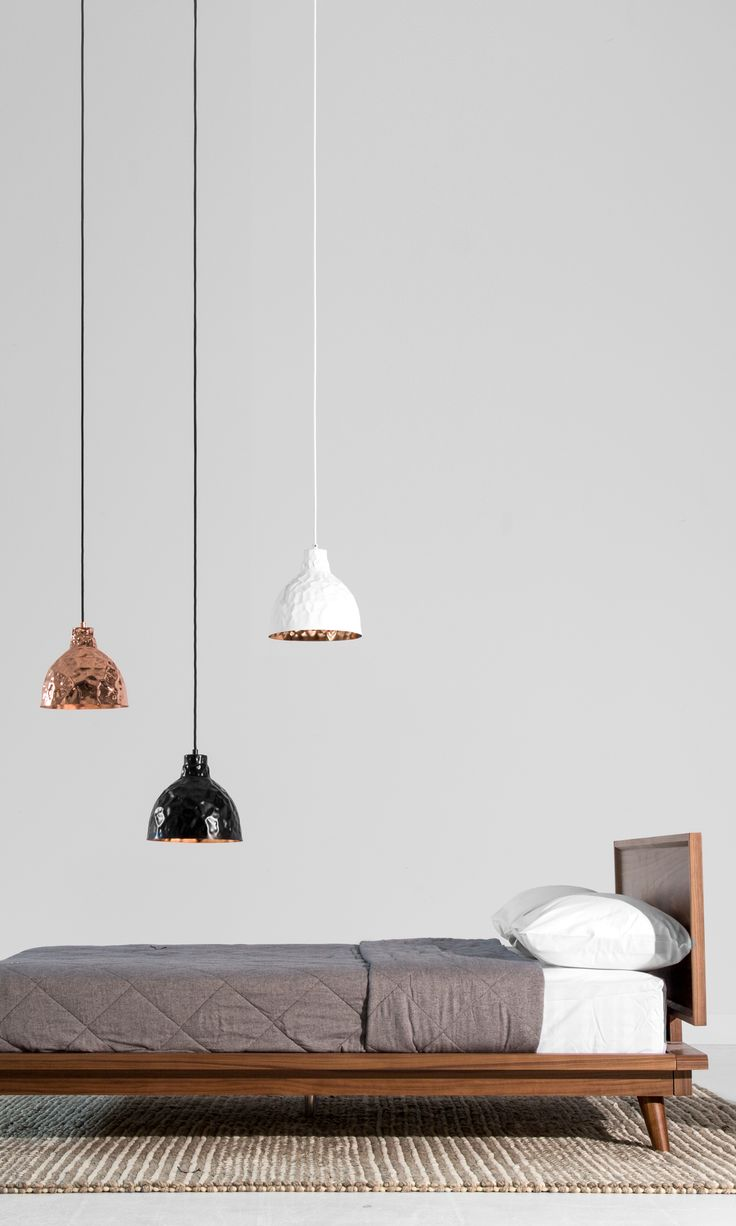 Asher, a modern minimalist bed for the modern minamalist
