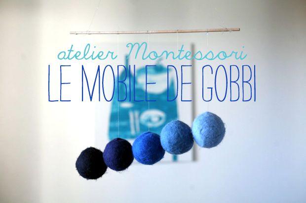 Atelier Montessori : le mobile de Gobbi