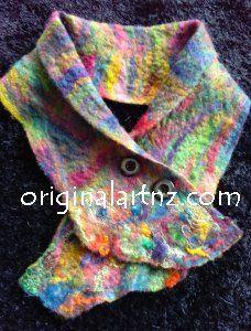 scarf.jpg #wetfelting #feltedscarf #handmade